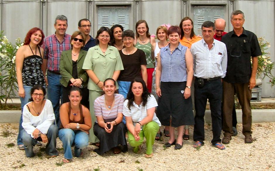 I corsisti e gli organizzatori di Bari, luglio 2007